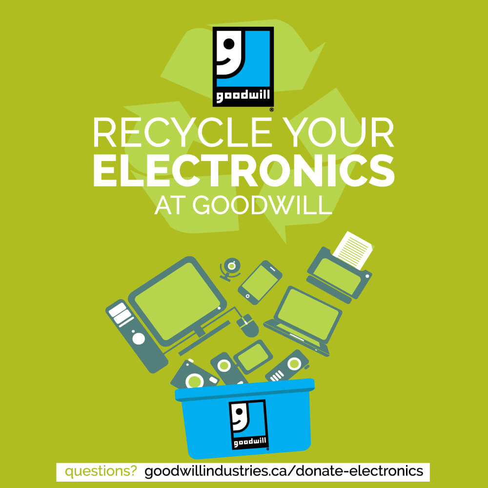 Recycle your electronics