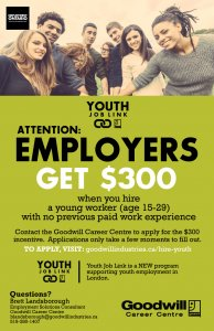 Youth Job Link Hiring Incentive