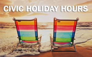 civic holiday hours 2016