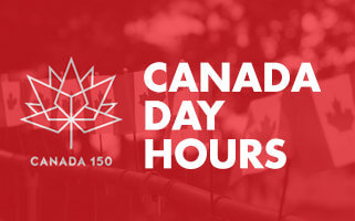 Canada Day Hours 2017