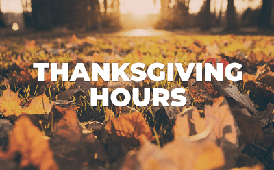 Thanksgiving Holiday Hours at Goodwill