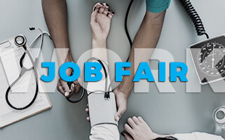 Healthcare Job Fair Promo Image