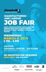 Manufacturing Job Fair London Poster