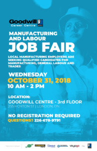 Manufacturing and Labour Job Fair Poster