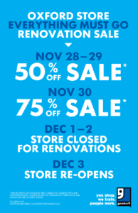 Oxford Goodwill Renovation Sale (London)