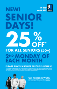 Senior Discount at Goodwill