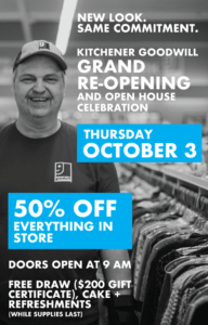Kitchener Goodwill Grand Re-Opening