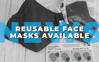 Reusable Face Masks Available at Goodwill
