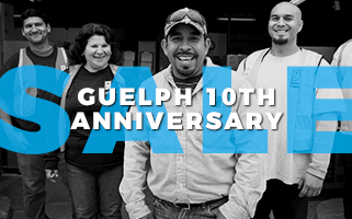 Guelph 10th Anniversary